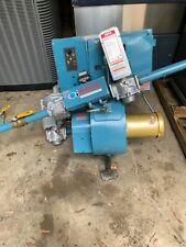 New listing Webster Cyclonetic Jb Series Forced Draft Natural Gas Burner System