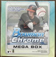 2020 Topps Bowman Chrome MLB baseball Mega Box