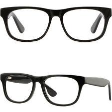 Thick Temple Arms Strong Women Men Plastic Frame Prescription Glasses Sunglasses