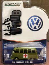 Greenlight  Club V - Dub 1964 Volkswagen Samba Bus ARMY Ambulance