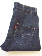 Levi's tipo 3 Retorcido Diseñado Jeans W30 L30 Azul Oscuro levj 295 #