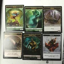 Duel Decks: Nissa vs. Ob Nixilis 1X Complete Token Set Collection 6 Total Cards
