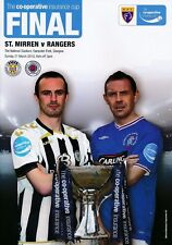 2010 SCOTTISH CIS LEAGUE CUP FINAL RANGERS v ST MIRREN