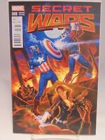 SECRET WARS #8 008 VARIANT COVER  MARVEL COMICS VF/NM CB1273