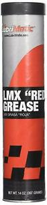 5 PACK! LubriMatic 11390 LMX 'Red' High-Performance Grease, 14 oz. Cartridge