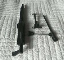 Vintage Action Man 40th Trípode para pistola sin pintar prototipo de prueba de disparo Lewis