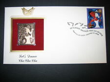 Let's Dance Cha Cha Cha 2005 22kt Gold GOLDEN Replica Cover STAMP