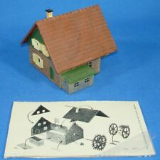 FALLER KAYBEE KRAMER BROTHERS TRACKSIDE STRUCTURES HO SCALE KIT WATER MILL 6227