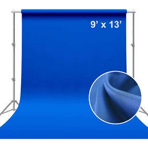 9 x 13 Ft Blue Polyester Backdrop Photo Studio Photography Background Brand New