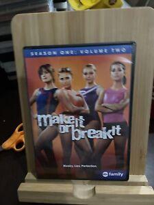 Make It Or Break It Season One 1 Volume Two TV Show DVD Set Region 1 Rare
