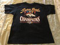 Vintage Denver Broncos Superbowl XXXII T-Shirt NFL Mens Size Extra Large 1998