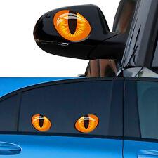 3D Böses Katzenauge Auto Aufkleber KFZ Fenster Wand Wasserdicht Sticker Tattoo~