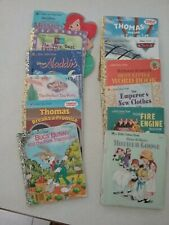Twelve Little Golden Books From 1987 To 2006 Mother Goose, Emperors New Clothes
