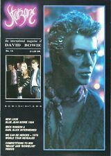 More details for david bowie starzone number 13 international magazine 30 pages 1984 sept/oct oop