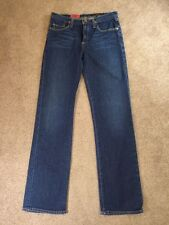 Adriano Goldschmied AG The Rider Straight Jeans Low Rise Women's Size 26 R USA