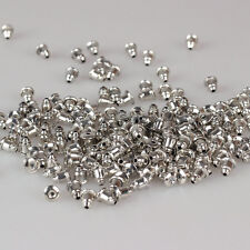 Lots 100Pcs White K Plated Back Stopper Ear Post Earring Nuts Craft Findings 5MM