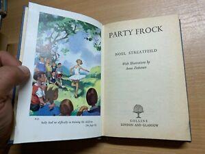 """1959 NOEL STREATFEILD """"PARTY FROCK"""" FICTION HARDBACK BOOK (P3)"""