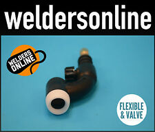 TIG TORCH HEAD WP17FV  Flexible Head With ValveUNIMIG QUALITY  FREE POSTAGE
