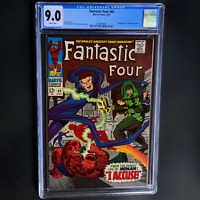 FANTASTIC FOUR #65 (1967) 💥 CGC 9.0 WHITE PGs 💥 1ST RONAN KREE THE ACCUSER!