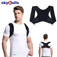 Women Men Back Posture Correction Shoulder Corrector Support Brace Belt Therapy