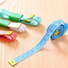 "2x 150CM 60"" Flat Tape Measure for Tailor Sewing Cloth Soft Body Measuring Ruler"