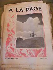 A la page N°173 Juillet 1933 Vacances