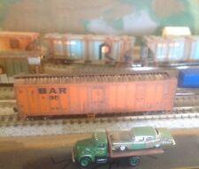 N,Atlas,BAR,Bangor aroostook,50' mech reefer weathered w/ rust,fade, #95