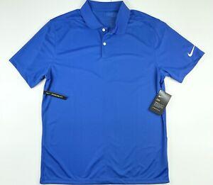 Nike Golf Victory Dri Fit Blue Polo Golf Shirt BV0356-480 2XL $55