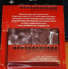 Upper Deck The Jordan Championship Journals (NEW In Original Packaging) 24 Cards