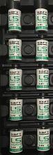 Lot 10 Saft LS14250 1/2 AA Size 3.6V Li-SOCl2 Lithium-Thionyl Chloride batteries