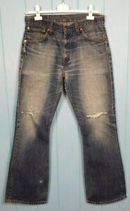Levis 516 Flared 1970 Style Jeans Original Rockstar Denim 2001 Vintage 34 W 34 L