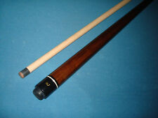 J&J Brown Stained 3 Piece Break Jump Cue 20 Ounces
