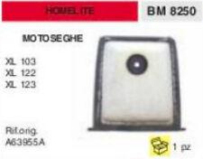 A63955A FILTRO ARIA MOTOSEGA HOMELITE XL 103 122 123 XL103 XL122 XL123