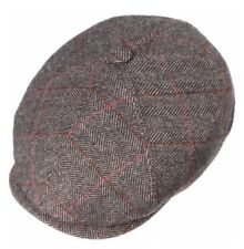 Stetson Europe Flat Cap Herringbone Newsboy The Oregon Wool Cap M 57cm 7 1/8