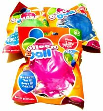25 CM INFLATABLE JELLY BALLOON BALL THROW CATCH SQUEEZE BOUNCE REUSABLE