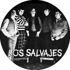 IMAN/MAGNET LOS SALVAJES . rolling stones bravos brincos kinks saicos sonics