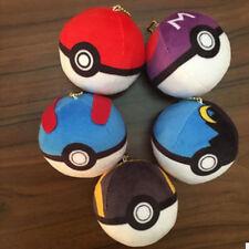 Funny Cute Pokemon Plush Toy Soft Stuffed Animal Doll Poke Ball Throw Cushion