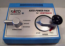 Kato 22-015 Unitrack Train Controller & Power Pack -12 Volt DC Controlled Output