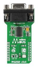 MCU/MPU/DSC/DSP/FPGA Development Kits - ADD-ON BOARD RS232 CLICK