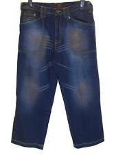 """New Men's Authentic Fatigues B Vintage Denim Jeans W34"""" L30"""" Blue"""
