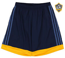 adidas MLS Men's Adizero Team Color Short, LA Galaxy- Navy