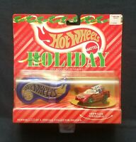 VINTAGE Hot Wheels Holiday 1995 Collector Edition Camaro Red w/Case