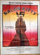 Affiche cinéma originale  SALON KITTY  format 120x160 Les damnées du 3 ème Reich
