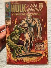 Tales to Astonish 93 Hulk Sub-Mariner Fine Silver Surfer