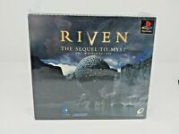 Sony PS1 Playstation - Riven the sequel to myst 5 discs - Japanese Ver NTSC-J