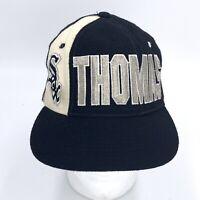 Chicago White Sox MLB Frank Thomas Vintage 90's Starter Wool Snapback Cap Hat