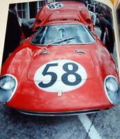 Ferrari P/P2/P3/P4/DINO/LM/512S/M/312P/PB photo book from japan rare #0138