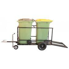 NEW - Wheelie Bin Trailer / Rubbish Bin Mover