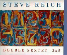 NONESUCH STEVE REICH, BANG ON A CAN - DOUBLE SEXTET, 2 X 5