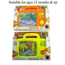 bimbo bambino carica a molla musicale TV Attività giocattolo 12 MESI + NUOVO